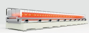 Roll to Roll Far-infrared Heating System