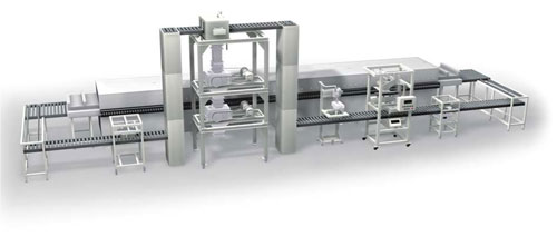 Fully Automatic Powder Processing System