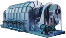 PHOTO:Indirect-Heating Batch Rotary Kiln