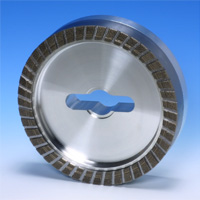 "Grain Single Layered Metal Bonded CBN Wheel ""Grit Ace"""